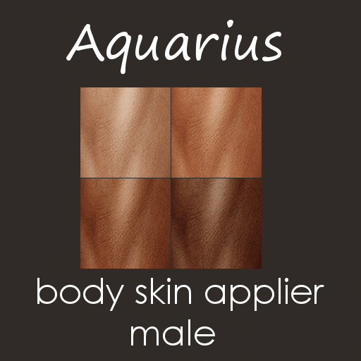 aquarius male skin