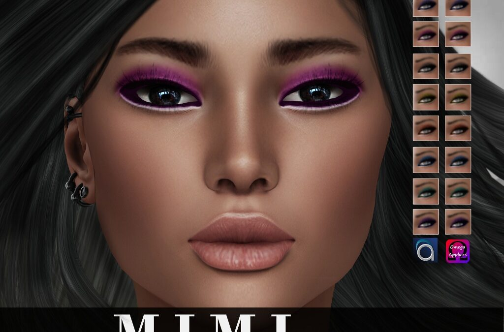 """Mimi"" Eyeshadow Make Up"