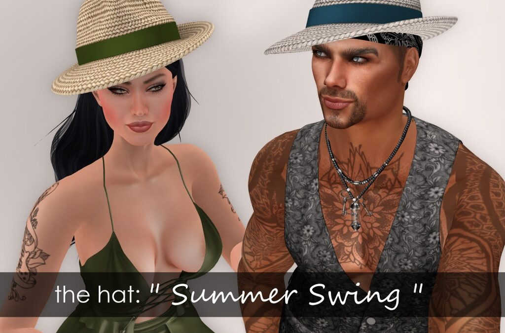 """PANAMA SUMMER SWING"" Mesh Hat"