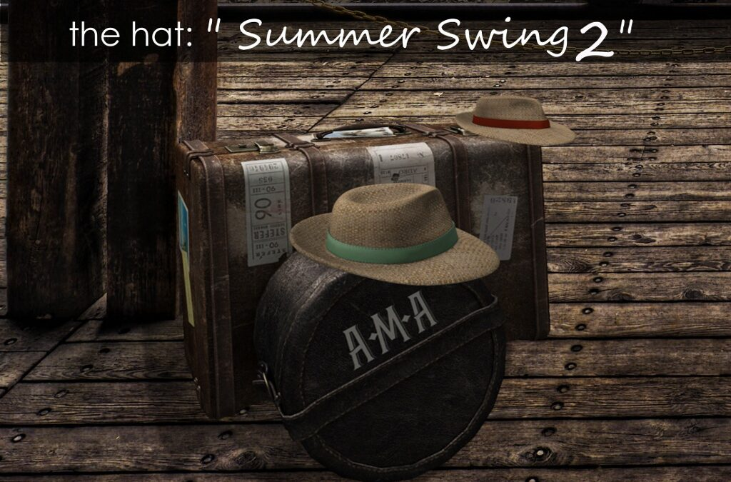 """PANAMA SUMMER SWING 2"" Mesh Hat"