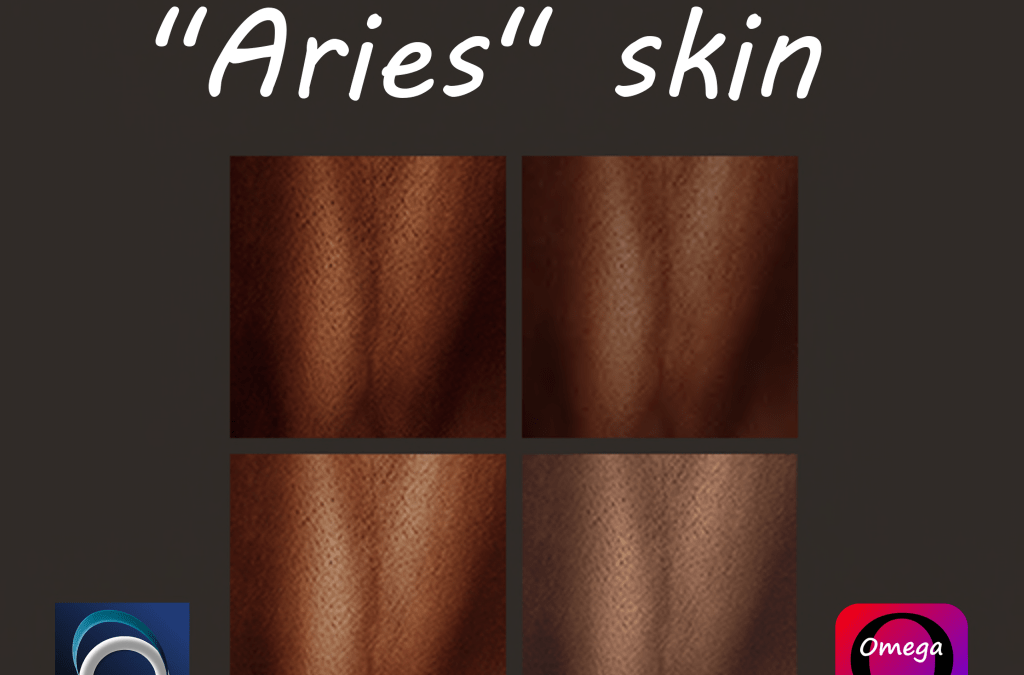 """ARIES"" Four Male Skin Tones – Omega Applier"